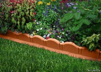 Садовые рамочки: ленты, бордюры, заборчики